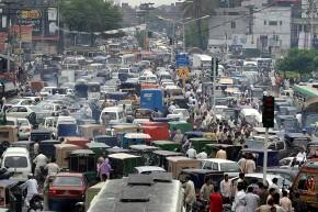 لاہور کی بے ہنگمٹریفک