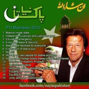 پاکستان تحریک انصاف نے اپنے منشور پر کتنا عملکیا؟